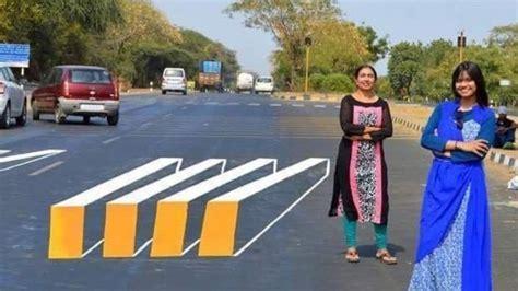 ilusiones opticas urbanas con ilusiones 243 pticas buscan proteger a los peatones en