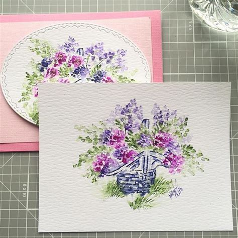 watercolor garden tutorial 123 best images about cards in the garden on pinterest
