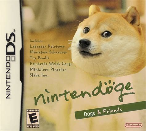 Dogge Meme - nintendoge doge know your meme