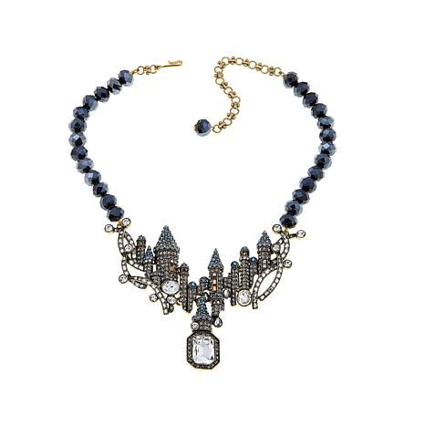 Beaded Drop Necklace heidi daus disney s and the beast quot captivating