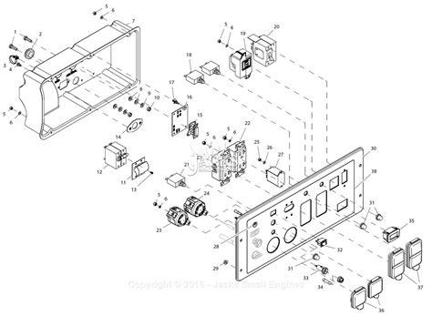 generac gp5500 wiring diagram generac gp17500e wiring