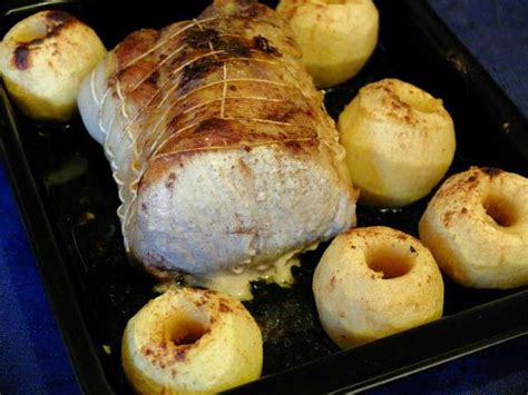 recettes de roti de porc au four