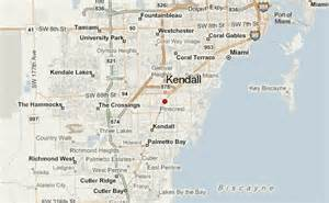 where is kendall florida on a map kendall location guide