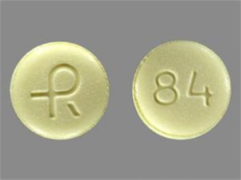 Letter Xanax R 84 Pill Images Yellow