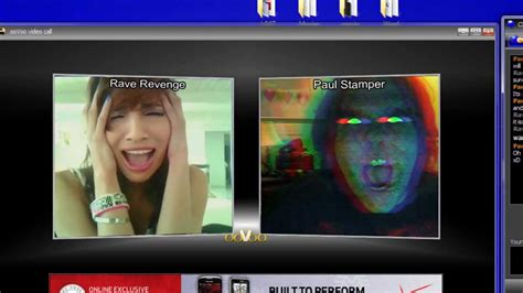 Find On Oovoo Ghost While On Oovoo Webcaming