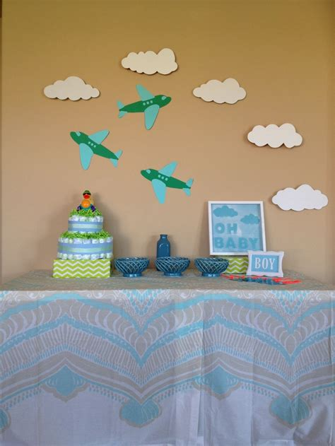 Airplane Baby Shower Ideas by Airplane Theme Baby Shower Ideas Airplane Theme Baby