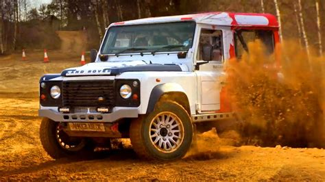 land rover gear rally land rover defender fifth gear