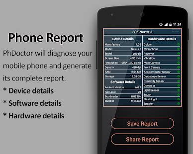 Play Store Checking Info Phdoctor Mobile Phone Checker Tester Info Apps On