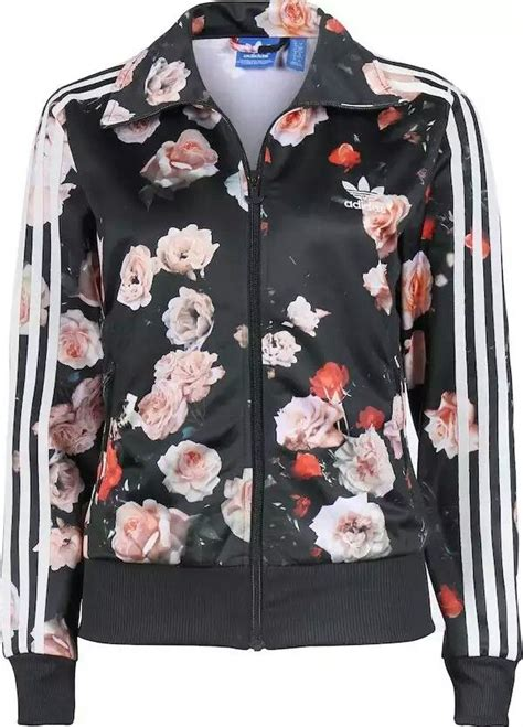 Flower Jaket P adidas flower jacket clothes jackets adidas and flower