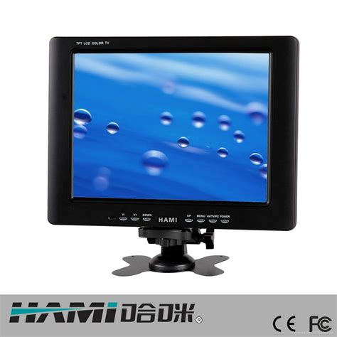 Lcd Monitor 8 Inch 8 inch industrial lcd monitor h8006 l hami china manufacturer surveillance equipment