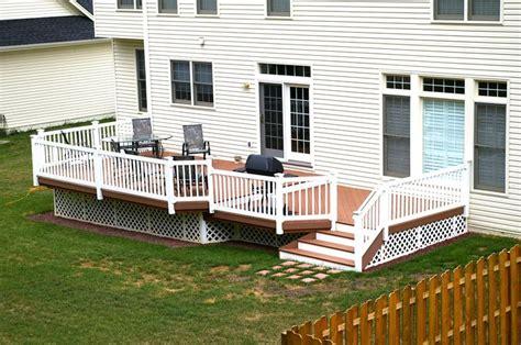 brown  white  tone decks pinterest decks