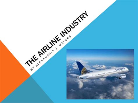 Airline Industry Ppt Airline Ppt Template