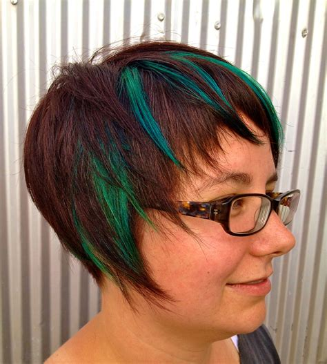 foil placement for purple bangs how to hair girl peek a boo color using the star pattern