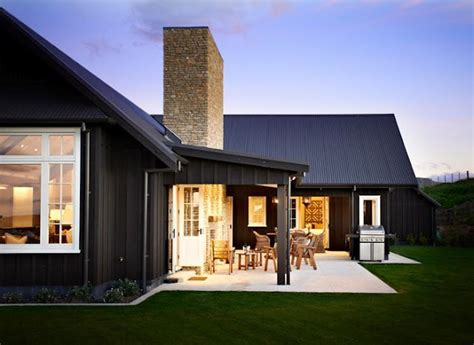 color outside the lines love barns turned homes black barn house home design rustic modern