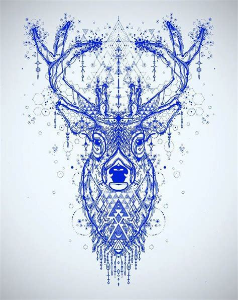 tattoo mandala deer incredible deer tattoo sketch best tattoo ideas gallery