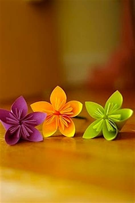 Sticky Note Origami Flower - origami flowers from sticky notes sensible living