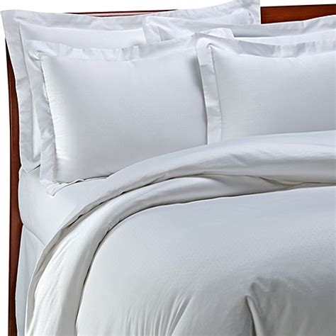 white hotel bedding palais royale hotel collection duvet cover in white dot