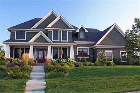 4 bedroom craftsman style house plans craftsman style house plans 3313 square foot home 2