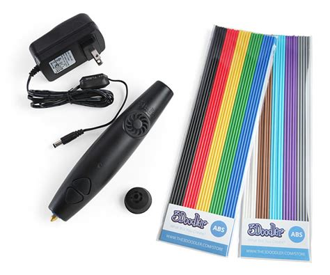 3doodler pen for sale 3doodler 3d printing pen 2 0 thinkgeek