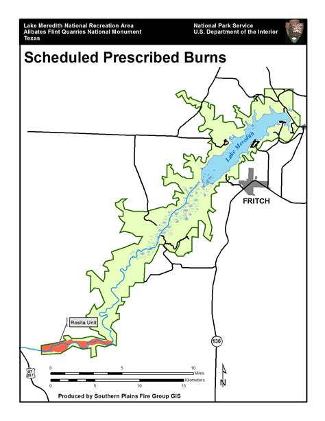 flint texas map prescribed burn planned for lake meredith national recreation area alibates flint quarries