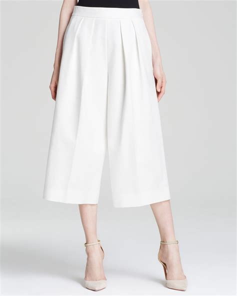 Gamis Fungli Wide Exclusive 02 vince camuto wide leg culottes bloomingdale s exclusive in white lyst