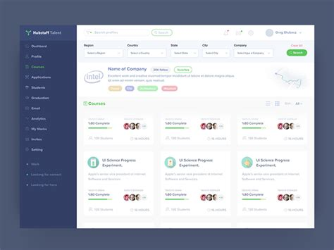 pattern web app course web application design by anwar hossain dribbble
