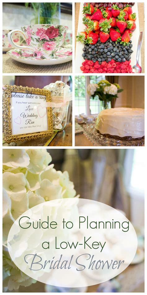 guide to planning a low key bridal shower seattle stylista