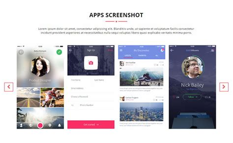 Download Responsive Free Mobile App Landing Page Template Apex App Mobile App Landing Page Template