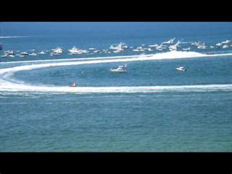 clearwater boat races super boat races by clearwater beach florida youtube