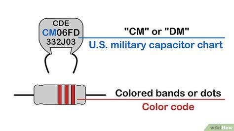 capacitor letter symbol comment lire la valeur d un condensateur 13 233
