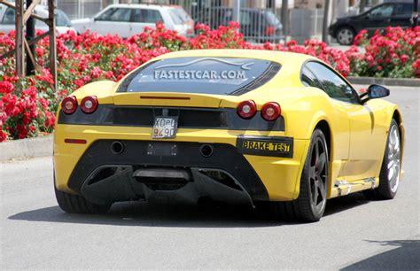 Ferrari F450 by Ferrari F450 Diffuser Spy Pics Carzi