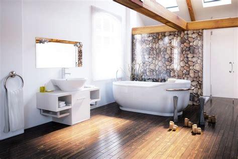 baignoire dans le sol baignoire et plancher en bois l union sacr 233