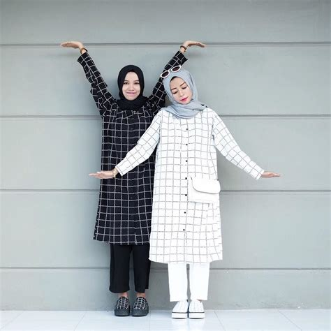 model hijab terbaru  simple modern elegan