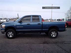 How Much Weight Can A Dodge Ram 1500 Hold 2006 Dodge Ram 2500 Photos Informations Articles
