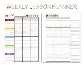 weekly planning template for teachers 17 best ideas about printable planner on
