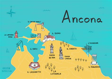 marche ancona map of ancona by kristen boydstun le marche a