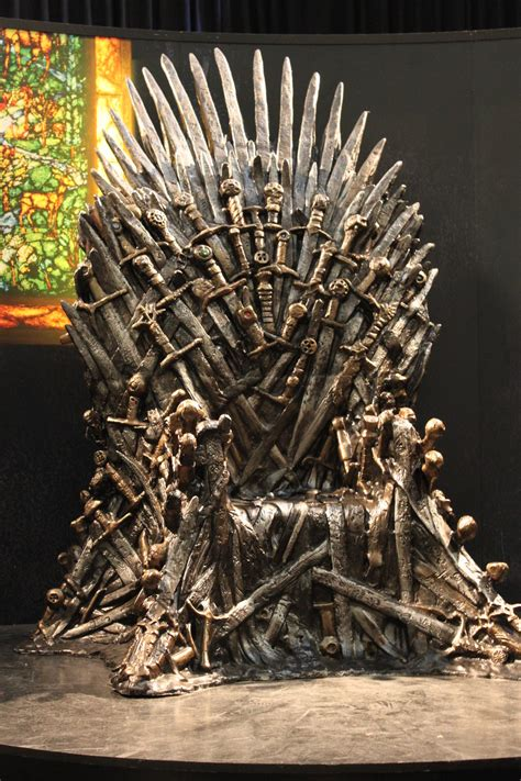 of thrones iron throne replica by devilblood on