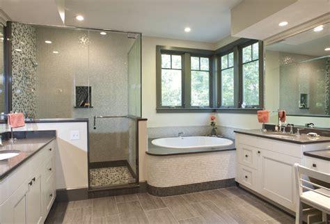 Popular Bath Shower Curtain gray and white master bath contemporary bathroom
