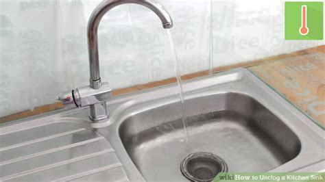 Unclogging The Kitchen Sink 3 Ways To Unclog A Kitchen Sink Wikihow