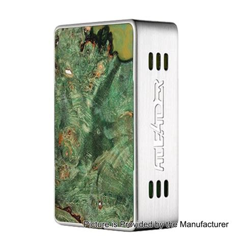 Aleader Funky 160w Authentic authentic aleader funky 160w silver ss stable wood tc vw box mod
