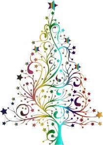 tree with no lights clipart starry tree prismatic no background