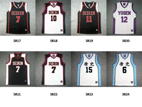 desain baju dengan corel draw x7 desain baju jersey basket kuroko basketball jersey