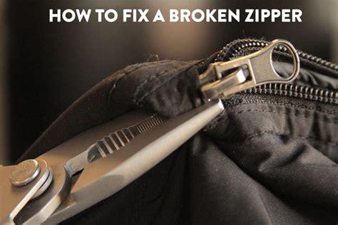 how to fix a broken zipper driverlayer search engine