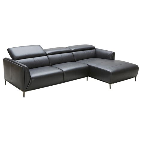 sofa stores belfast divani casa belfast sectional sofa black adjustable
