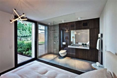 Open Bedroom Bathroom Design Awesome Master Bedroom Ensuite Bathroom Open Plan Bathroom Bedroom Design Ideas Home