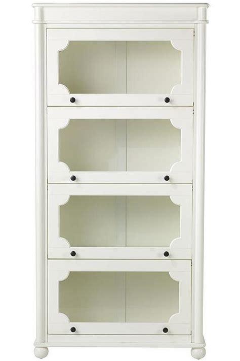 Essex 4 Shelf Barrister Bookcase Homedecorators Com White Barrister Bookcase