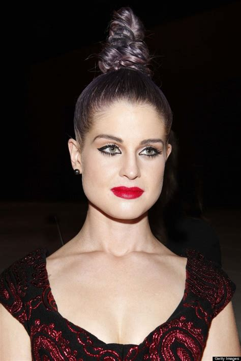 Cone Rows Hair | kelly osbourne hits the marc jacobs f row shows off cone