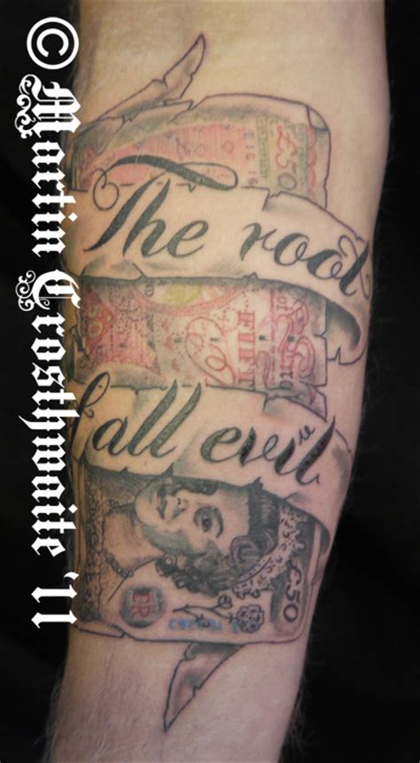 root of all evil tattoo by mxw8 on deviantart