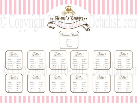elegant diy table numbers seating chart the budget savvy bride
