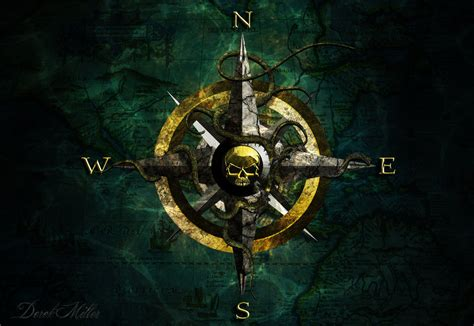 wallpaper engine reddit piracy pirate compass by drock9246 on deviantart